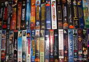 Коллекция CD-MP3-DVD дисков - VHS и Аудио кассет!